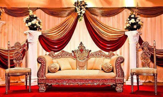 Mehndi Stage Background : Wedding stage decoration in guntur decorators