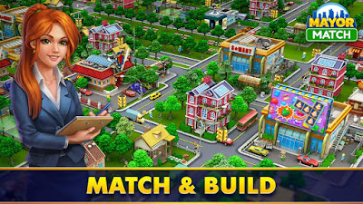 MAYOR MATCH TOWN BUILDING TYCOON & MATCH-3 PUZZLE (MOD, ENDLESS LIVES)