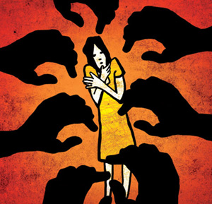 Investigations about releasing video across internet after 10 friends of husband rape wife