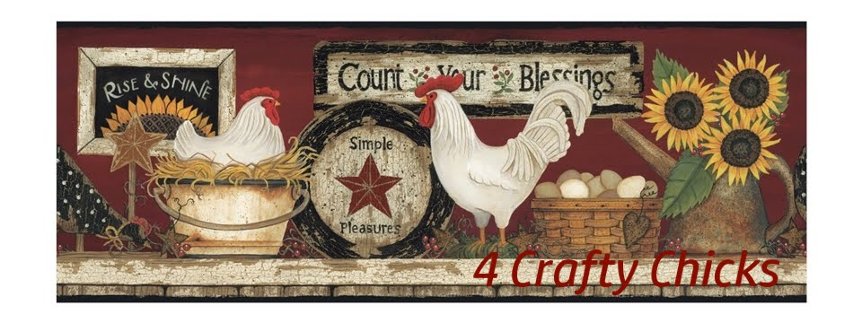 4 Crafty Chicks Challenge Blog
