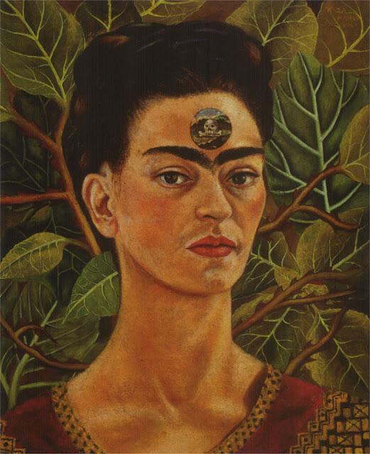 Фрида Кало - Думая о смерти. 1943