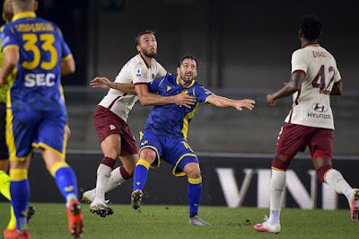 الدوري الإيطالي .. روما يسقط يتعادل أمام هيلاس فيرونا في الدوري الإيطالي