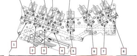 Mining Heavy Equipment: HD785-7 KOMATSU TRANSMISSION E03