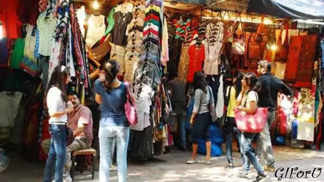 Chandni Chowk and Chawri Bazar-places vidit in delhi-GIforU