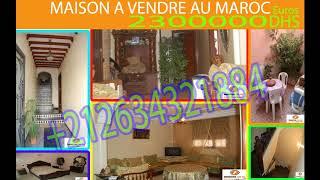 Maison a vendre a Casablanca