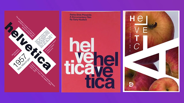 Helventica-fonts