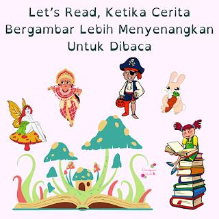 let's read perpustakaan digital cerita anak