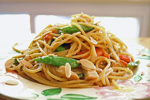 Spaghetti Noodles (Asian Style) Recipe