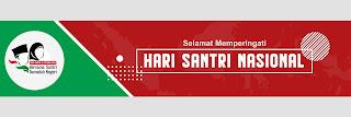 Banner Spanduk Ucapan Hari Santri Nasional