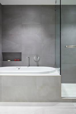 ห้องน้ำรูปแบบเรียบง่าย
