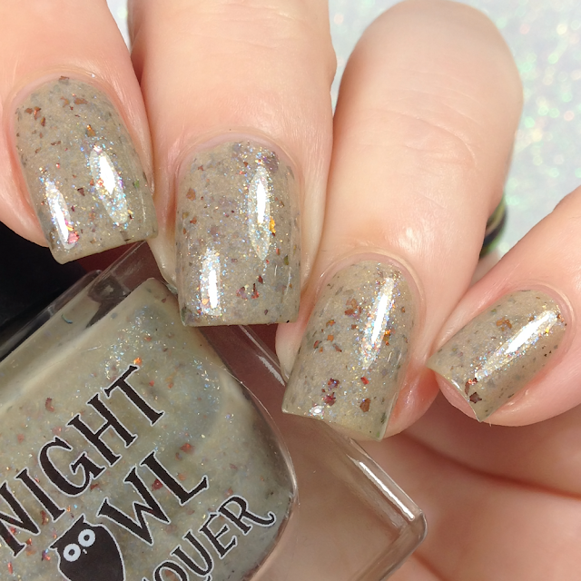 Night Owl Lacquer-We're On Our Own Side