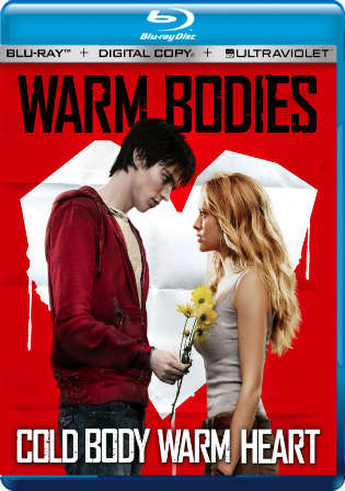 Warm Bodies 2013 BluRay 300MB Hindi Dual Audio 480p