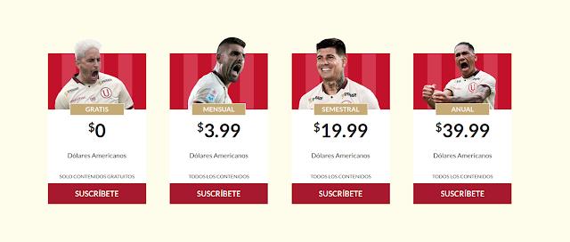 Club de fútbol peruano lanza su propio servicio OTT Universitario Play