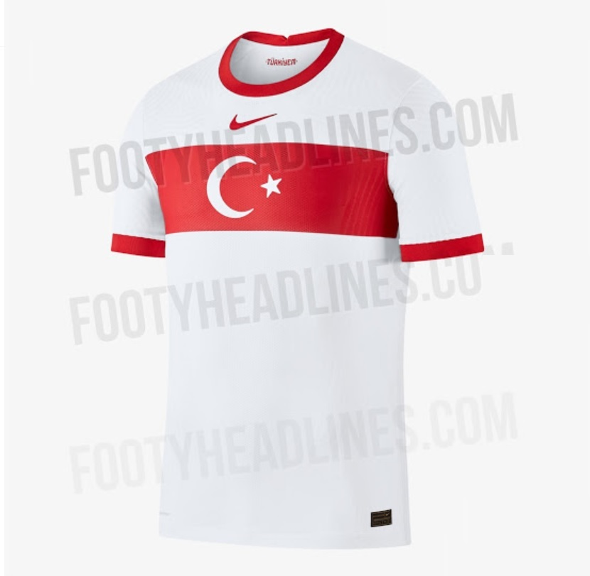 Turkey Euro 2020 Home Kit
