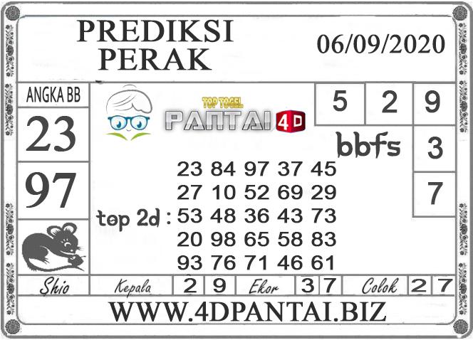 PREDIKSI TOGEL PERAK PANTAI4D 06 SEPTEMBER 2020