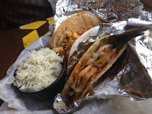 Bubba Kush and Ooey Gooey Tacos at Condado in Pittsburgh