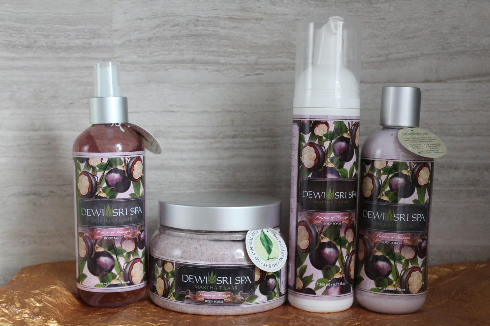 Dewi Sri Spa Passion of Maggnis Signature proizvodi za njegu kože tijela