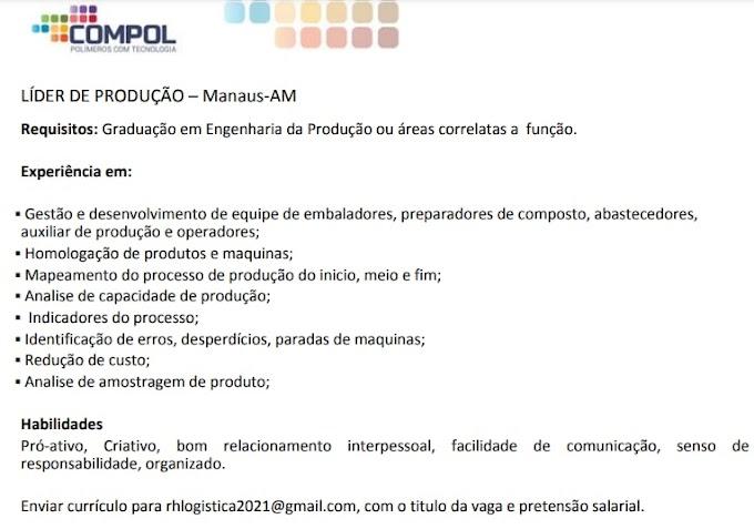 LÍDER DE PRODUÇÃO - COMPOL