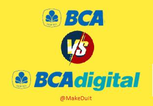 Perbedaan Mencolok Antara BCA dan BCA Digital