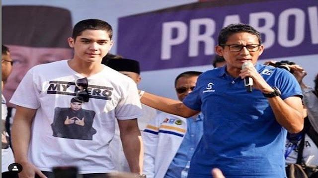 Didampingi Al Ghazali saat Kampanye di Surabaya, Sandiaga Uno: Tolong Jangan Ketuker