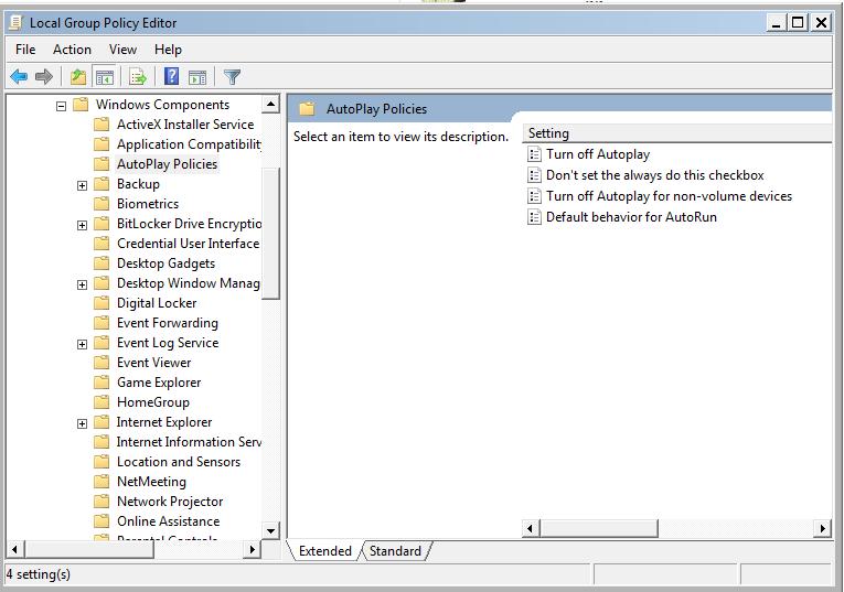 Cara Menonaktifkan Autorun dan Autoplay Pada Windows 7
