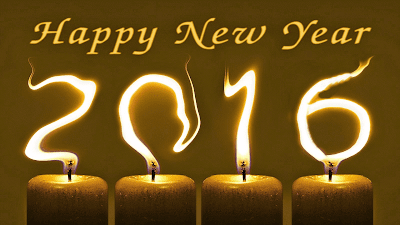 Happy New Year 2016 Celebration HD Wallpaper