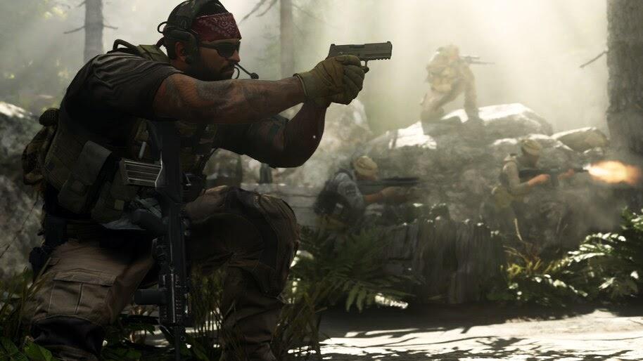 Call of Duty Modern Warfare, Soldiers, 4K, #5.991