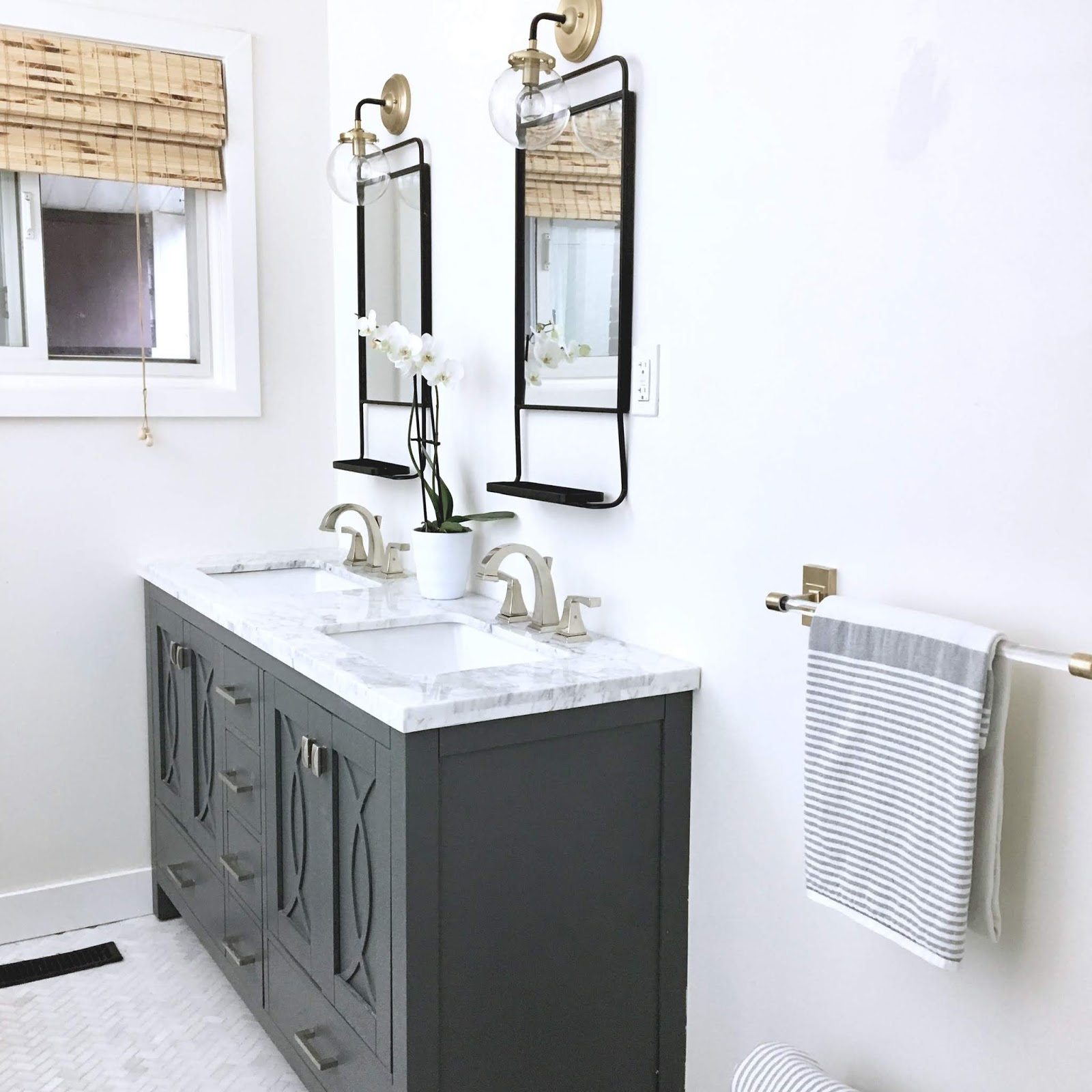 Small Bathroom Makeover Small Bathroom Makeover Harlow Thistle Home Design