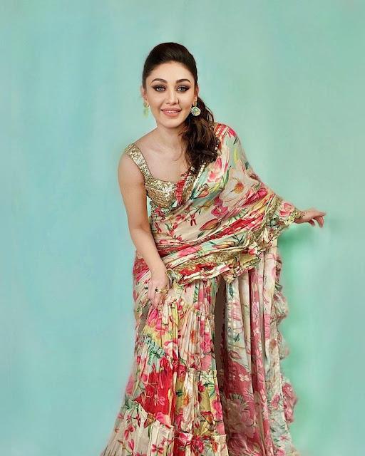 Shefali Jariwala Recent Photos in Saree Actress Trend