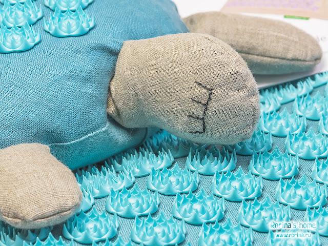 Массажная подушка Pranamat Turtle: отзывы