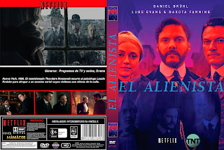 CARATULA [SERIE DE TV] The Alienist - EL ALIENISTA 2018 [COVER DVD]