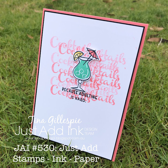 scissorspapercard, Stampin' Up!, Just Add Ink, Nothing's Better Than
