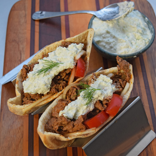 Shaved Steak Gyros featuring Certified Angus Beef from Food City