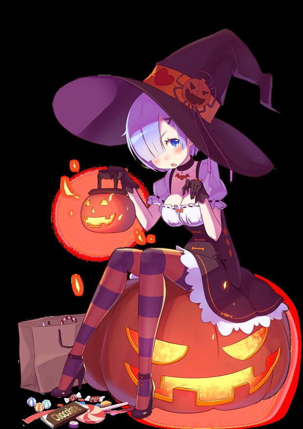 Render Rem - Halloween