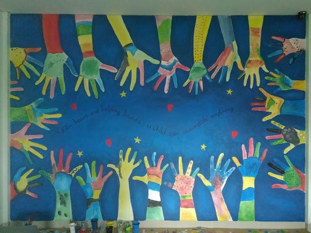 Lukisan Mural Sekolah