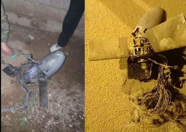 صواريخ دليلة مسقطة في سورية