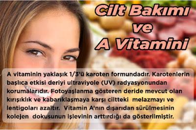 Cilt Bakımı ve A Vitamini