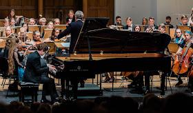 Rachmaninov: Rhapsody on a Theme of Paganini - PAvel Kolesnikov, Jan Latham-Koenig, Britten-Shostakovich Festival Orchestra - Cadogan Hall (Photo Luke Toddfrey)