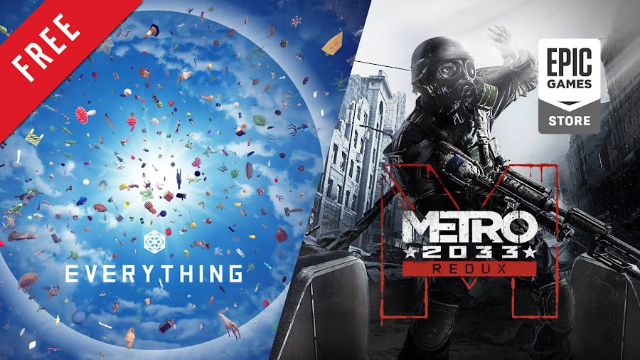 everything metro 2033 redux free pc game epic games store david oreilly double fine productions 4A games deep silver