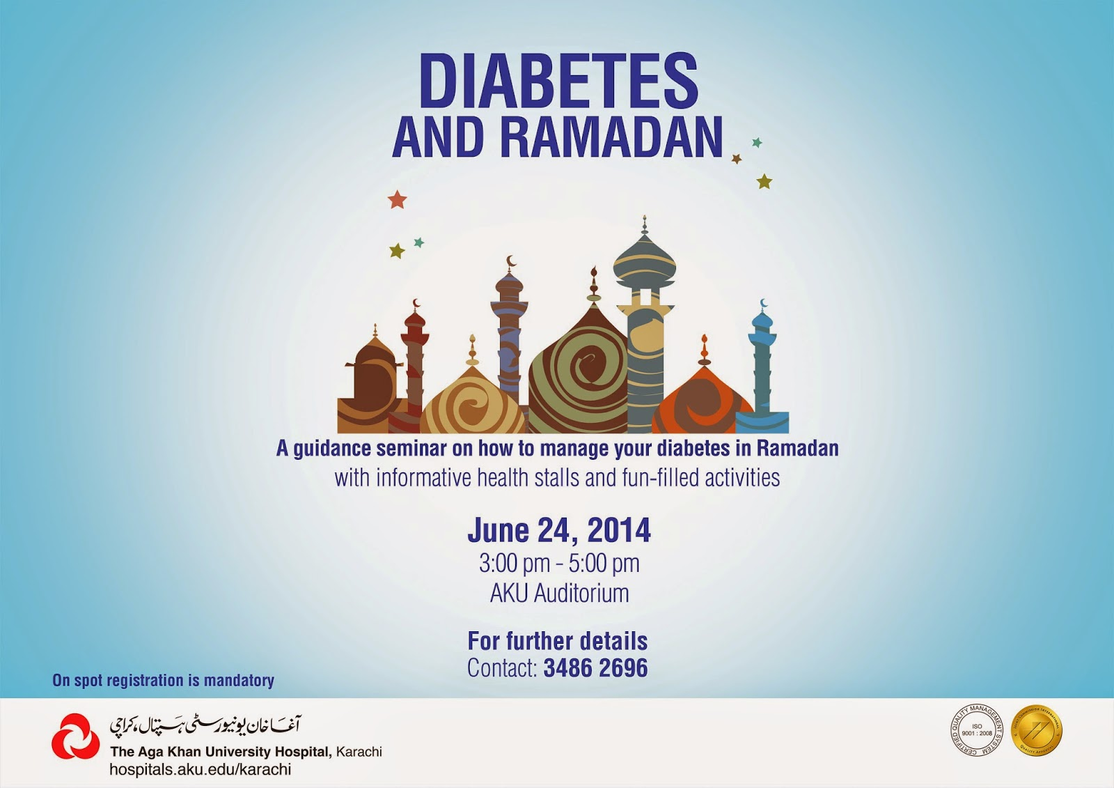 Diabetes bei Ramadan & Fasten