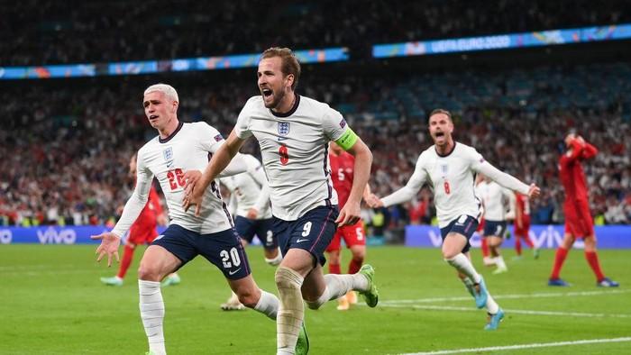Inggris vs Denmark 2-1 Highlights Semifinal Euro 2020