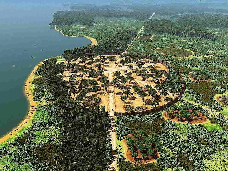 Antigo assentamento amazônico de Kuhikugu