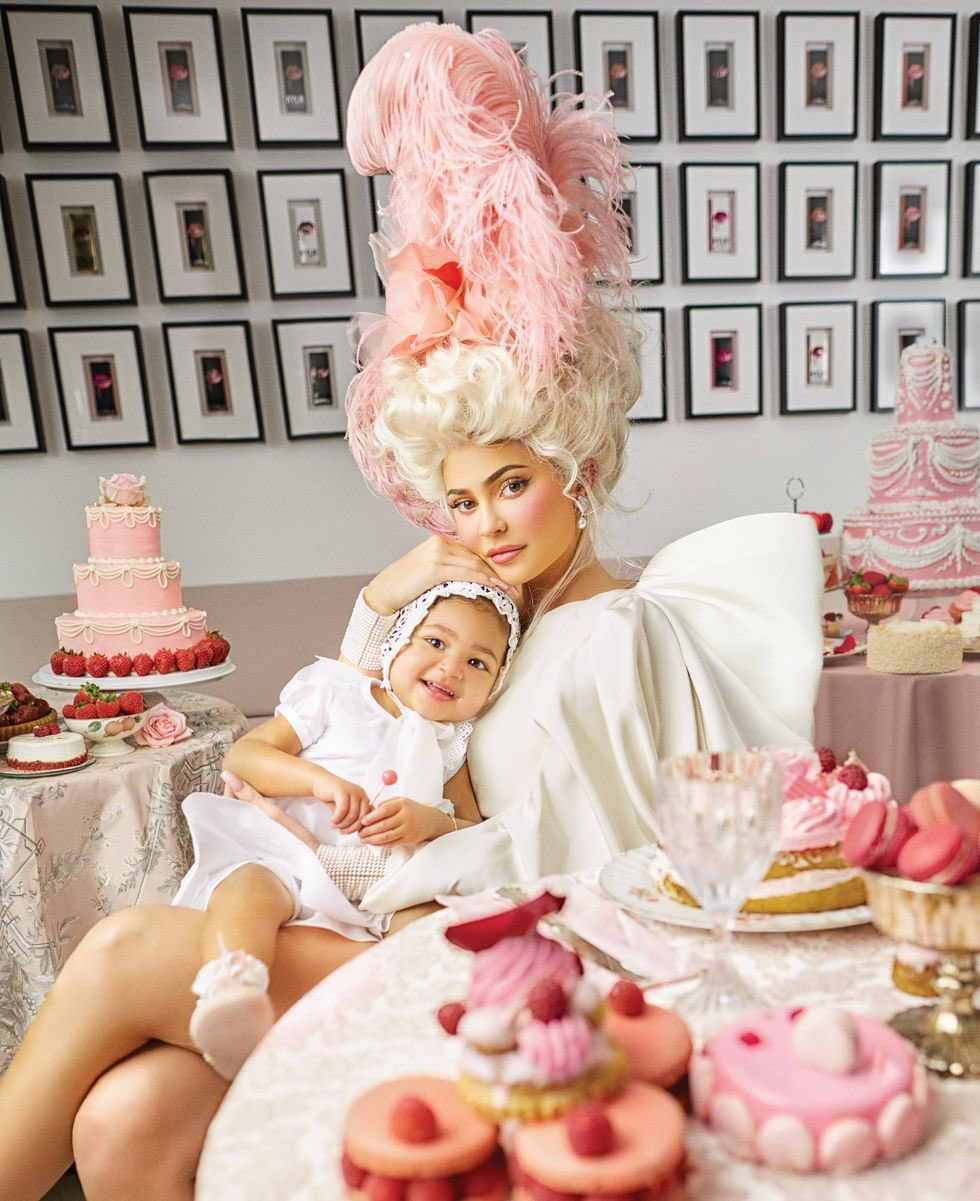 Stormi joins mama Kylie Jenner for Harper's Bazaar US March 2020