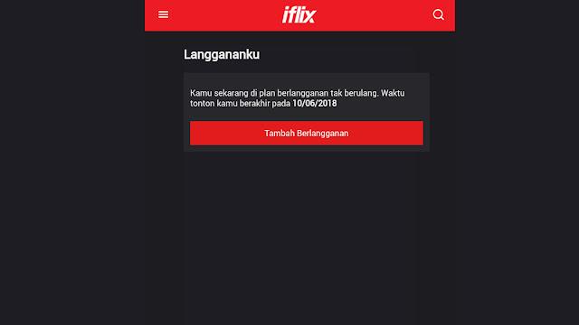 Berlangganan di Iflix