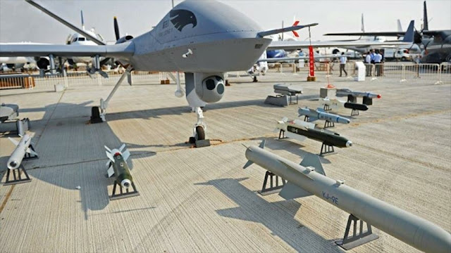 China creará drones de combate con inteligencia artificial
