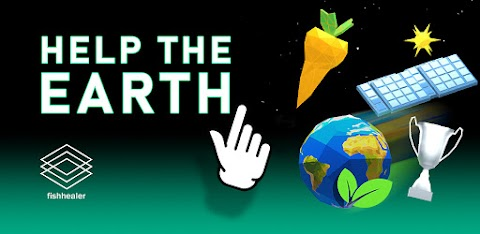 """HELP THE EARTH"" - a fishhealer game"