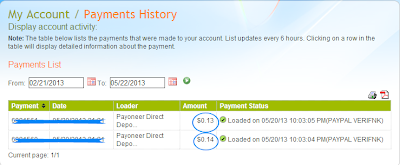 Payoneer account