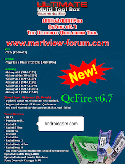 UMTv2/UMTPro QcFire v6.7 - Mi Account Unlock Tool Latest Update 2021 Free Download To AndroidGSM