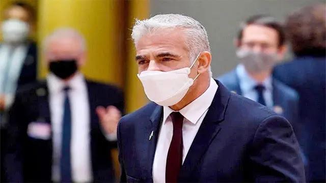 """وزير الخارجية الإسرائيلي يائير لبيد  يزور """"بيت إيل"""" بالدار البيضاء"""