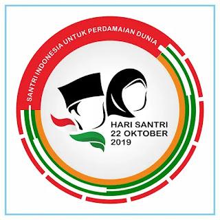 Hari Santri Nasional (HSN) 2019 Logo - Free Download File Vector CDR AI EPS PDF PNG SVG